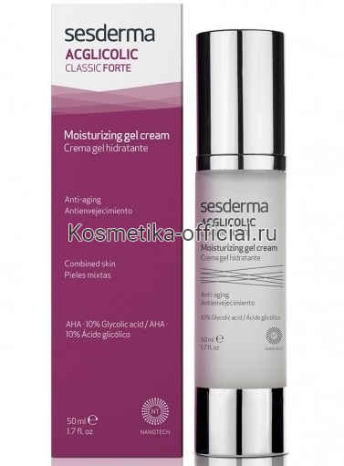 Sesderma Acglicolic Classic Gel-cream moisturizing гель-крем увлажняющий, 50 мл