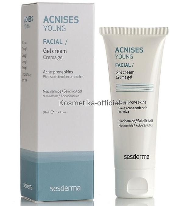 Sesderma Acnises young Cream Gel Крем-гель, 50 мл