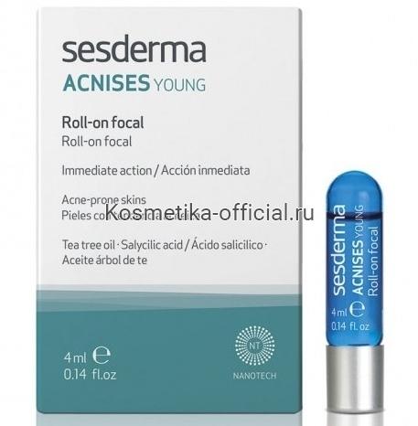 Sesderma Acnises Young Roll On Ролик для локального применения, 4 мл