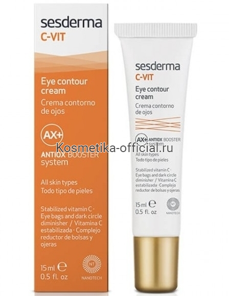 C-Vit Eye Contour Cream Крем-контур вокруг глаз 15 мл СЕСДЕРМА (SESDERMA)