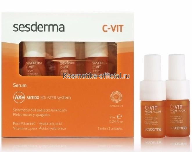 C-Vit Serum Реактивирующая сыворотка против старения СЕСДЕРМА (SESDERMA)