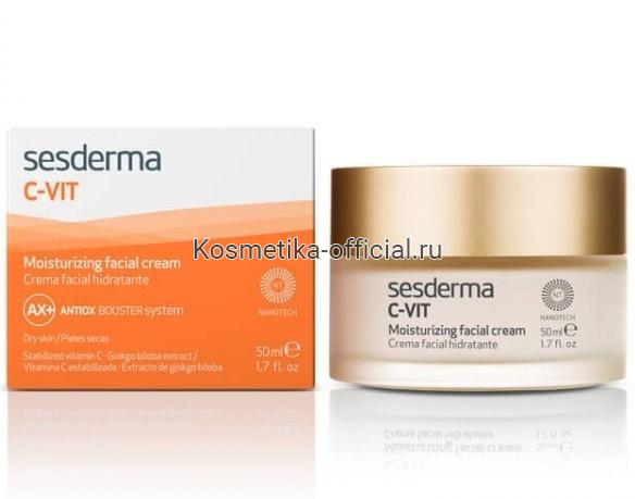 C-Vit Cream Крем увлажняющий, 50 мл СЕСДЕРМА (SESDERMA)
