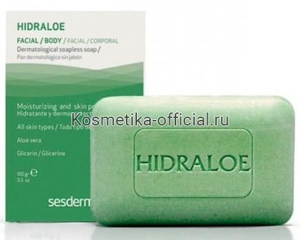 Hidraloe Дерматологическое мыло, 100 гр СЕСДЕРМА (SESDERMA)