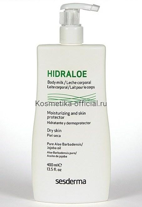 Hidraloe Молочко для тела, 400 мл СЕСДЕРМА (SESDERMA)
