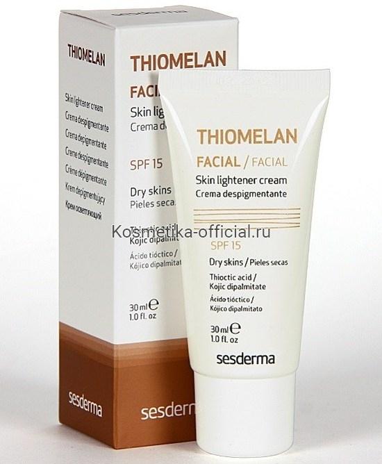Sesderma Thiomelan Cream (SPF 15) Крем депигментирующий (СЗФ 15), 30 мл