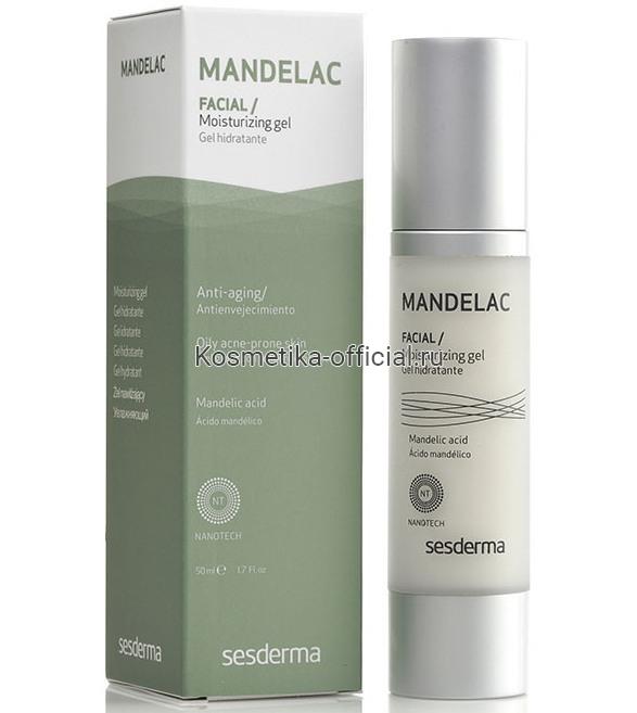 Sesderma Mandelac moisturising Gel Гель увлажняющий, 50 мл