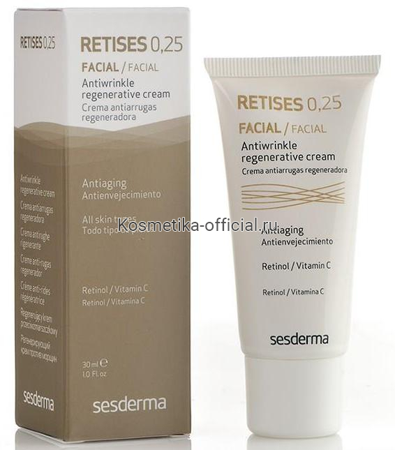 Retises cream 0,25 Регенерирующий крем против морщин, 30 мл. СЕСДЕРМА (SESDERMA)