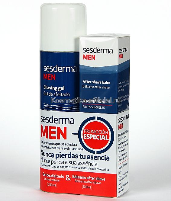 Промонабор MEN Гель для бритья + Бальзам после бритья