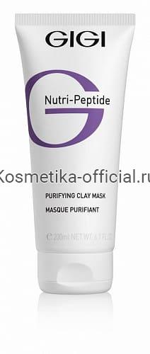 Nutri Peptide Clay Mask - Пептидная очищающая глиняная маска для жирной кожи, 50 (Gigi)