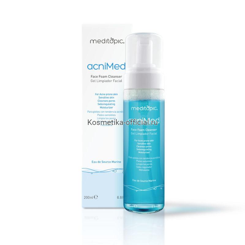 Acnimed – Face Foam Cleanser For Acne-Prone And Sensitive Skin (Meditopic) – Очищающая пенка для чувствительной и склонной к акне кожи