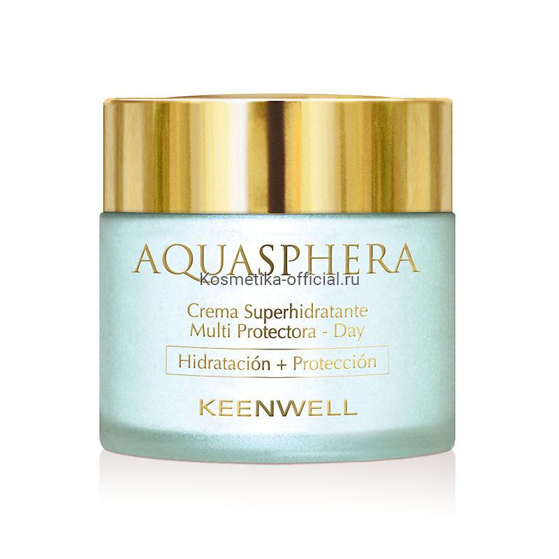 Aquasphera Moisturizing Multi-Protective Cream-Day – Дневной суперувлажняющий мультизащитный крем, 80 мл