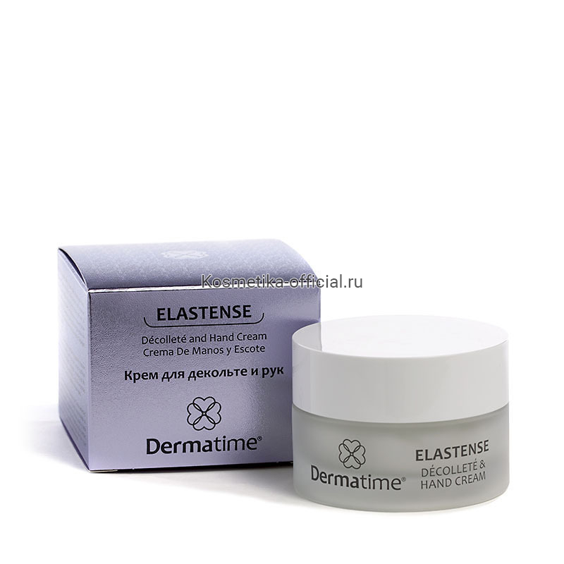ELASTENSE Decollete and Hand Cream (Dermatime) – Крем для декольте и рук