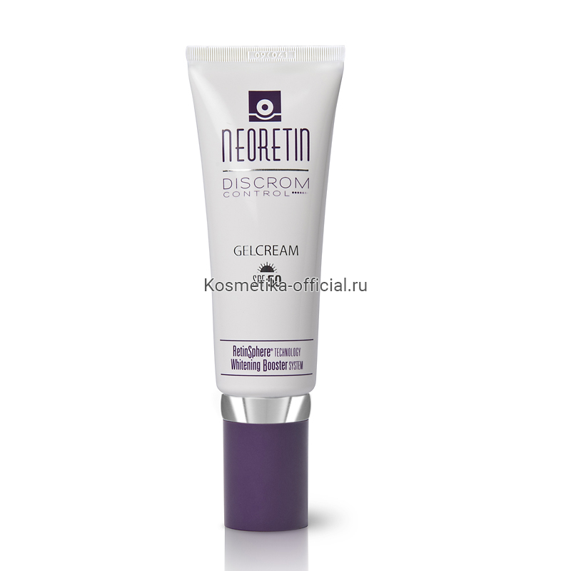 Neoretin Discrom Control Gelcream Pigment Lightener SPF 50 – Депигментирующий гель-крем, SPF 50, 40 мл