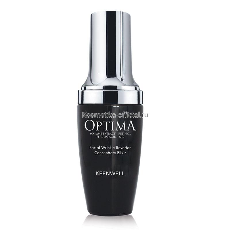 Optima Facial Wrinkle Reverter Concentrate Elixir (Keenwell) – Сыворотка-эликсир от морщин для лица