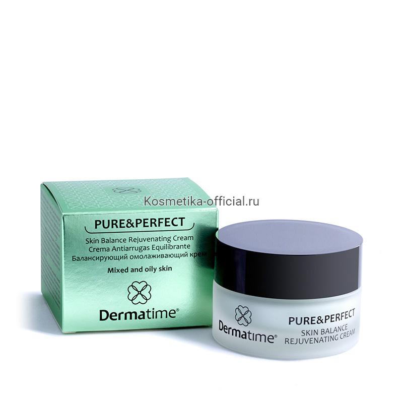 PURE&PERFECT Skin Balance Rejuvenating Cream (Dermatime) – Балансирующий омолаживающий крем