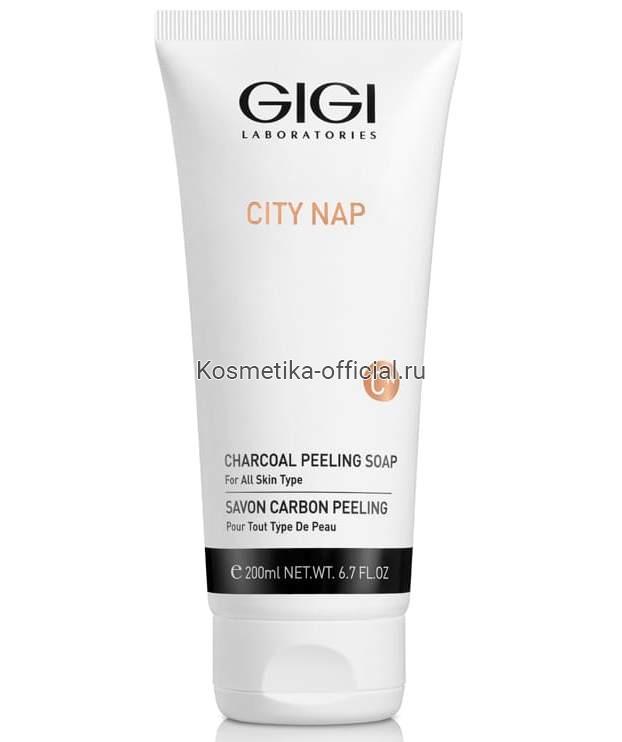 City NAP Charcoal Peeling soap Мыло жидкое для лица, 200мл (Gigi)