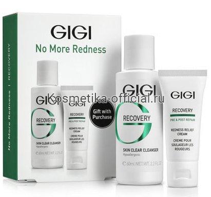 Recovery No More redness, подарочный набор чувствительная кожа и купероз (Gigi)