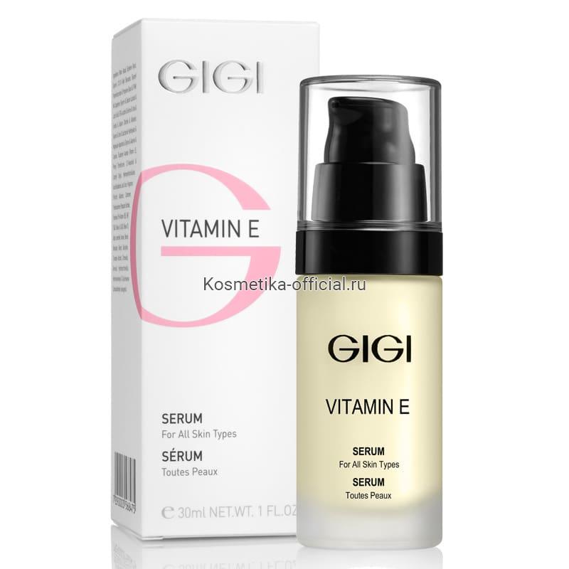 Vitamin E сыворотка, 30 мл (Gigi)
