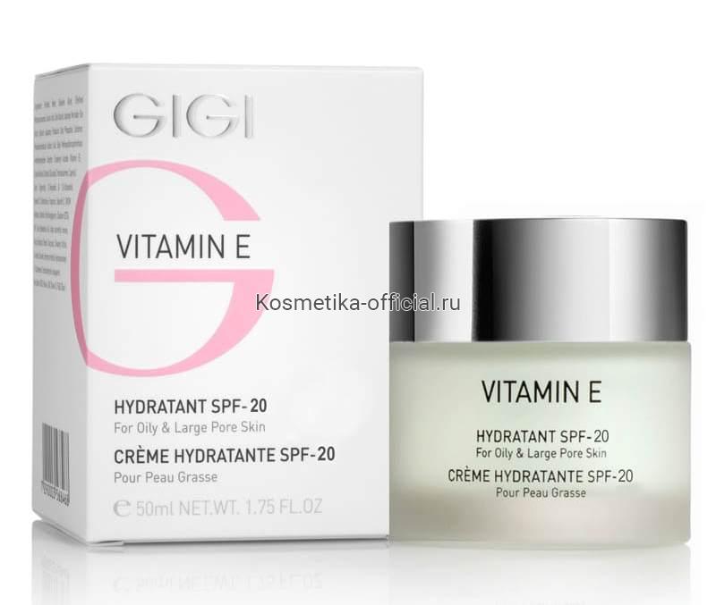 Vitamin E крем увлажняющий для жирной кожи, 50 мл (Gigi)