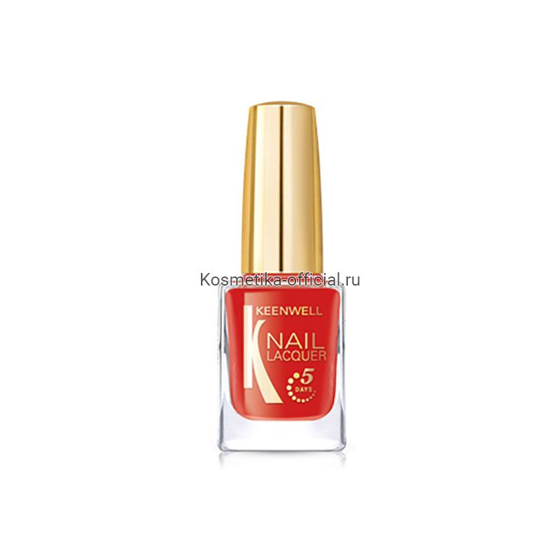 № 11 – RED POP / NAIL LACQUER (KEENWELL) – ЛАК ДЛЯ НОГТЕЙ «ЯРКО-КРАСНЫЙ» (ГЛЯНЕЦ)