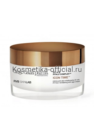 Антивозрастной крем 24 часа 30+ ICON diego dalla palma RVB SKINLAB 24-HOUR REVITALISING ANTI-AGE CREAM 50 мл