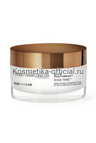 Восстанавливающий крем 24 часа с золотом Icon (Айкон) diego dalla palma RVB SKINLAB 24-Hour Redensifying anti-age cream 50 мл