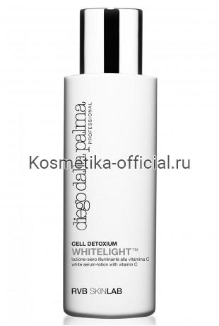 Лосьон-сыворотка с витамином С diego dalla palma Professional RVB SKINLAB WHITE SERUM-LOTION WITH VITAMIN C 125 мл