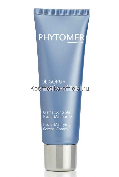 Увлажняющий матирующий крем PHYTOMER OLIGOPUR HYDRA-MATIFYING CONTROL CREAM 50 мл