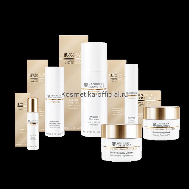 Рекомендованный уход за возрастной кожей Treatment For Mature skin