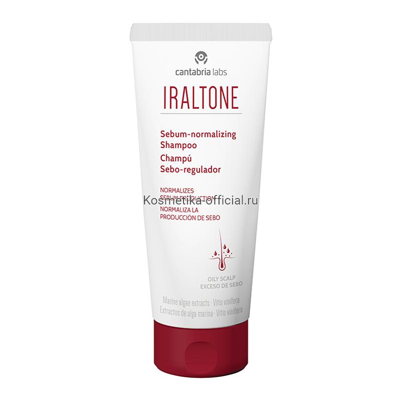 IRALTONE Sebum-Normalizing Shampoo (Cantabria Labs) – Себорегулирующий шампунь, 200 мл