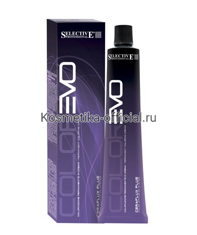 5.7 краска для волос, светло-каштановый фиолетовый / COLOREVO 100 мл