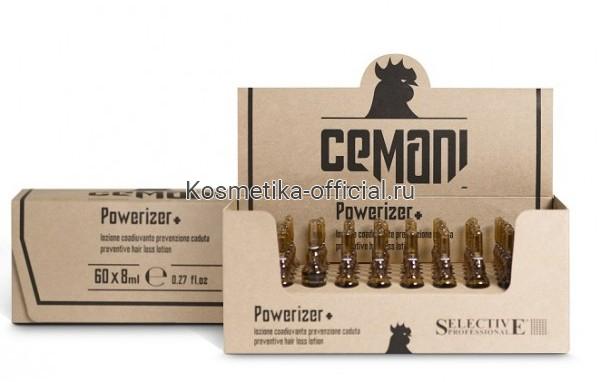 Лосьон профилактический в ампулах, для мужчин / Powerizer Lotion Cemani 60*8 мл