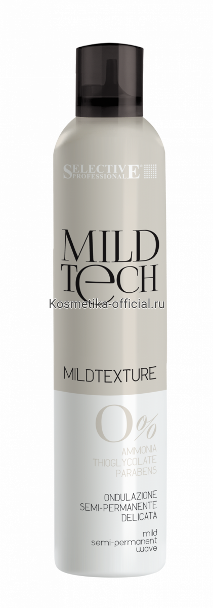 Завивка мягкая полуперманентная без тиогликолятов и аммиака / Mild Texture 250 мл