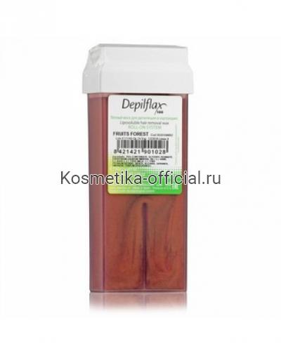 Тёплый воск в картридже Depilflax 100, лесные ягоды 110 гр