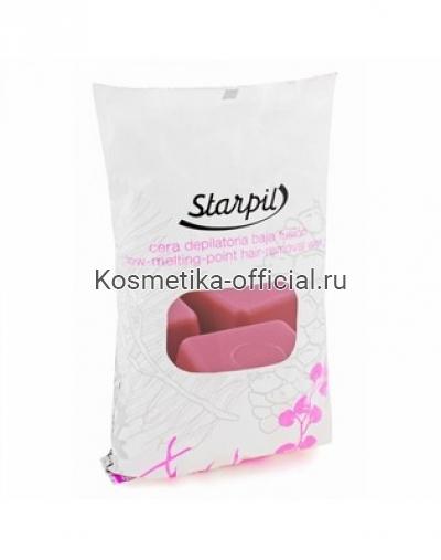 Горячий воск в брикетах Starpil, вино 1000 гр
