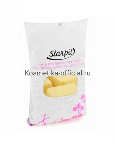 Горячий воск в брикетах Starpil, золотой 1000 гр