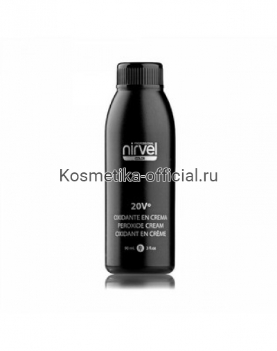Окислитель кремовый Nirvel Professional Peroxide Cream 20Vº (6%), 120 мл