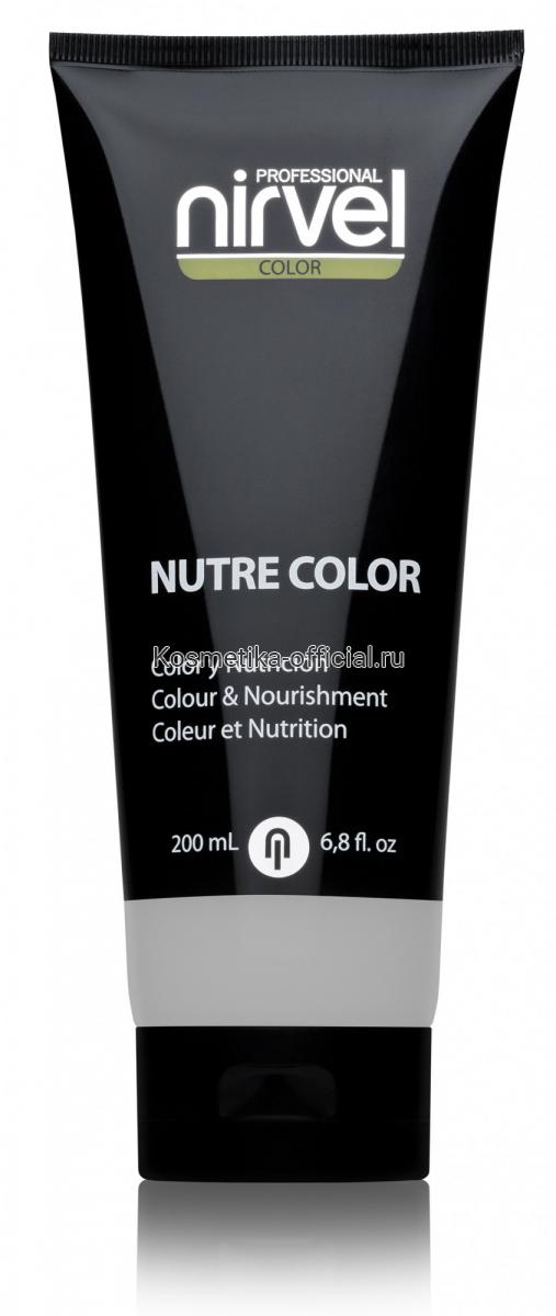 Красящая гель-маска Nutre-Color 200 МЛ ПРОЗРАЧНЫЙ (WHITE)