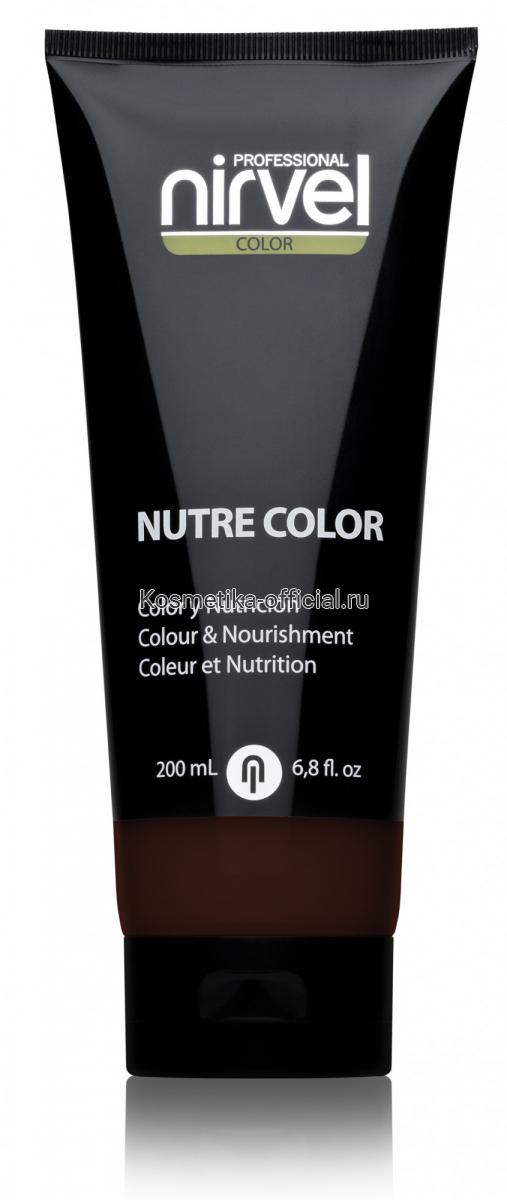 Красящая гель-маска Nutre-Color 200 МЛ ТЕМНО-КОРИЧНЕВЫЙ (DARK BROWN)