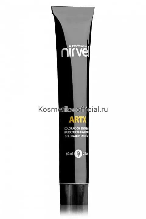 КРАСКА ДЛЯ ВОЛОС ARTX ПРОФЕССИОНАЛЬНАЯ Nirvel 60 МЛ 7-55 Блондин (оттенок средне-красное красное дерево)