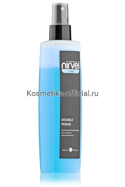 Двухфазный несмываемый спрей-кондиционер Nirvel Professional Double Phase, 250 мл
