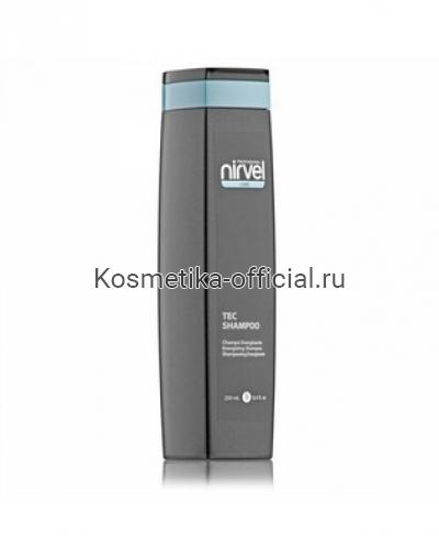 Укрепляющий шампунь для роста волос с биотином Nirvel Professional Tec Shampoo + Biotin, 250 мл