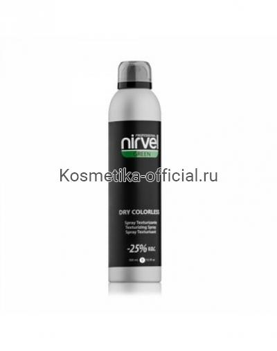 Cпрей бесцветный для текстурирования волос Nirvel Professional Dry Colorless, 300 мл
