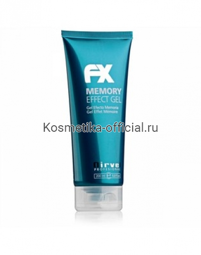 Гель для укладки волос с эффектом запоминания Nirvel Professional Memory Effect Gel, 200 мл