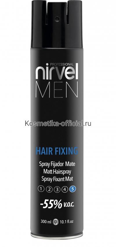 Матирующий лак Nirvel Hair Fixing для волос экстрасильной фиксации 300 мл