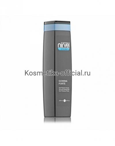 Гель для укладки волос и создания причесок сильной фиксации Nirvel Professional Gomina Forte Strong Setting Gel, 250 мл