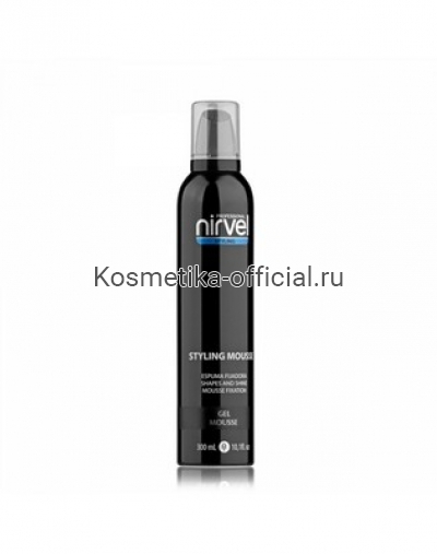 Гель - мусс для завершения укладки волос Nirvel Professional Gel Mousse, 300 мл