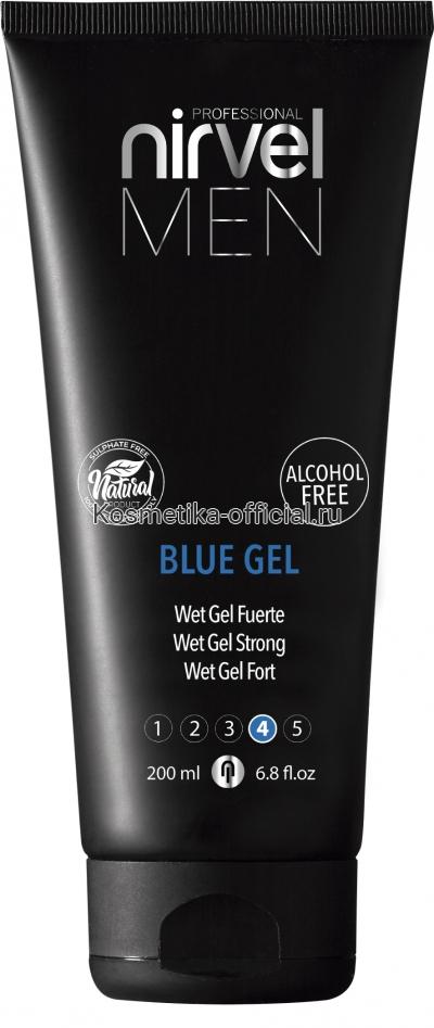 Гель Nirvel Blue Gel для укладки волос сильной фиксации 200 мл