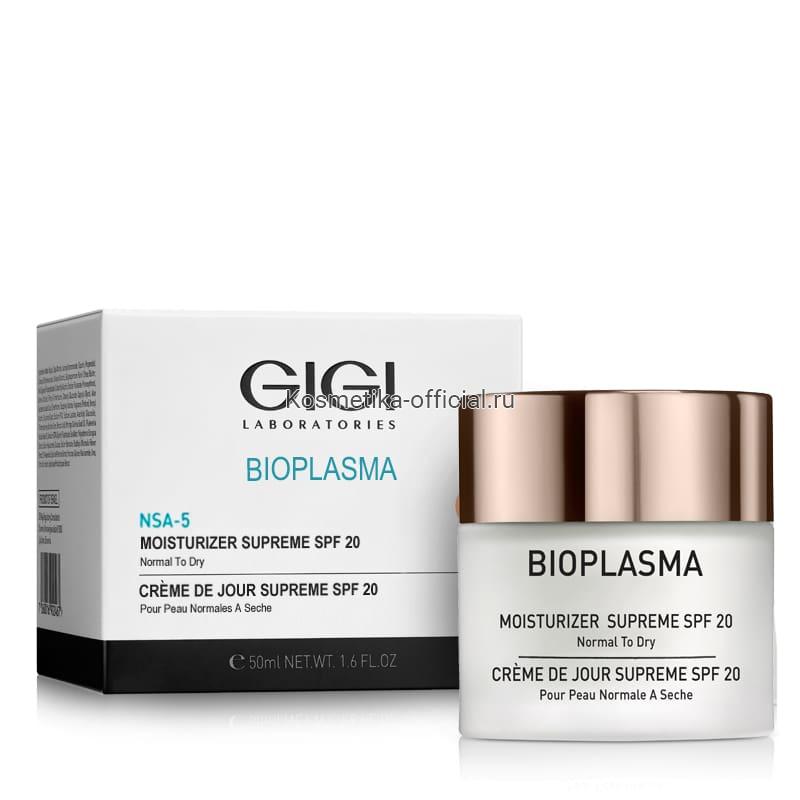 Bioplasma Крем увлажняющий для нормальной/сухой кожи SPF 20, 50 мл (Gigi)