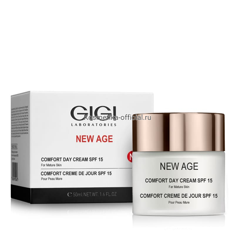 New Age крем дневной, 50 мл (Gigi)